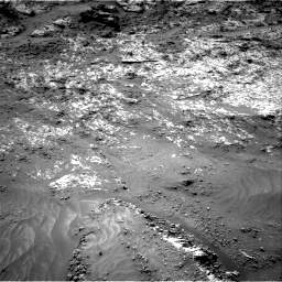 Nasa's Mars rover Curiosity acquired this image using its Right Navigation Camera on Sol 3188, at drive 2596, site number 89