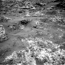 Nasa's Mars rover Curiosity acquired this image using its Right Navigation Camera on Sol 3188, at drive 2614, site number 89