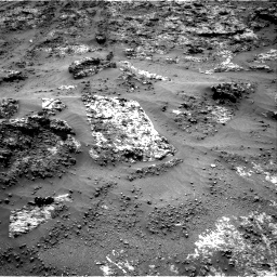 Nasa's Mars rover Curiosity acquired this image using its Right Navigation Camera on Sol 3188, at drive 2626, site number 89