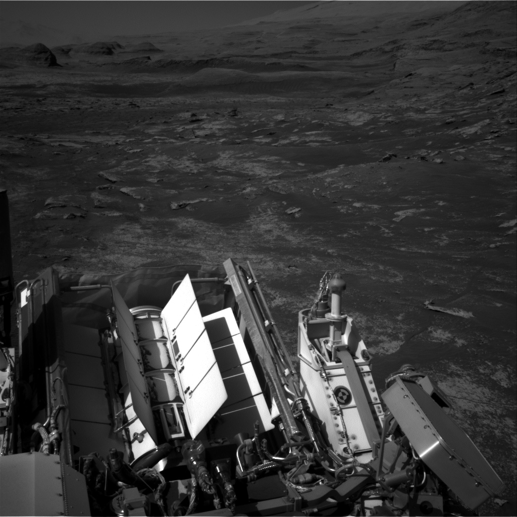 Nasa's Mars rover Curiosity acquired this image using its Right Navigation Camera on Sol 3188, at drive 2638, site number 89