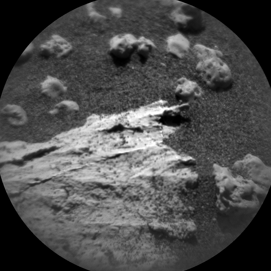 Nasa's Mars rover Curiosity acquired this image using its Chemistry & Camera (ChemCam) on Sol 3189, at drive 2638, site number 89