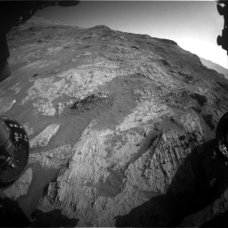 Nasa's Mars rover Curiosity acquired this image using its Front Hazard Avoidance Camera (Front Hazcam) on Sol 3190, at drive 2824, site number 89