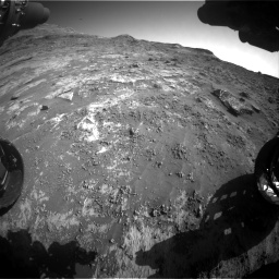 Nasa's Mars rover Curiosity acquired this image using its Front Hazard Avoidance Camera (Front Hazcam) on Sol 3190, at drive 2770, site number 89