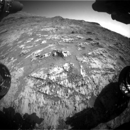 Nasa's Mars rover Curiosity acquired this image using its Front Hazard Avoidance Camera (Front Hazcam) on Sol 3190, at drive 2782, site number 89
