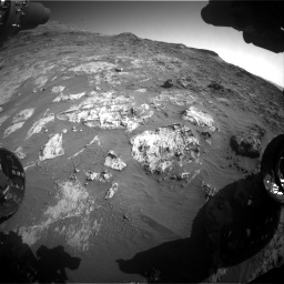 Nasa's Mars rover Curiosity acquired this image using its Front Hazard Avoidance Camera (Front Hazcam) on Sol 3190, at drive 2788, site number 89