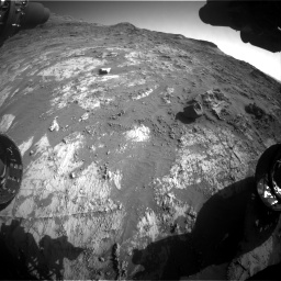 Nasa's Mars rover Curiosity acquired this image using its Front Hazard Avoidance Camera (Front Hazcam) on Sol 3190, at drive 2794, site number 89
