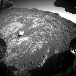 Nasa's Mars rover Curiosity acquired this image using its Front Hazard Avoidance Camera (Front Hazcam) on Sol 3190, at drive 2800, site number 89
