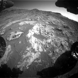 Nasa's Mars rover Curiosity acquired this image using its Front Hazard Avoidance Camera (Front Hazcam) on Sol 3190, at drive 2806, site number 89