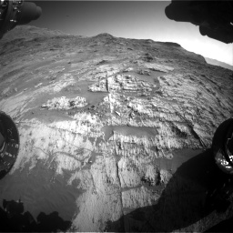 Nasa's Mars rover Curiosity acquired this image using its Front Hazard Avoidance Camera (Front Hazcam) on Sol 3190, at drive 2812, site number 89