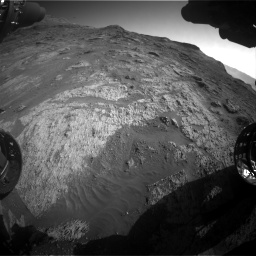 Nasa's Mars rover Curiosity acquired this image using its Front Hazard Avoidance Camera (Front Hazcam) on Sol 3190, at drive 2830, site number 89