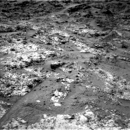 Nasa's Mars rover Curiosity acquired this image using its Left Navigation Camera on Sol 3190, at drive 2674, site number 89