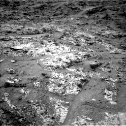 Nasa's Mars rover Curiosity acquired this image using its Left Navigation Camera on Sol 3190, at drive 2680, site number 89