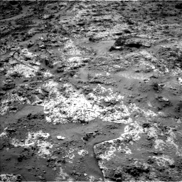 Nasa's Mars rover Curiosity acquired this image using its Left Navigation Camera on Sol 3190, at drive 2710, site number 89