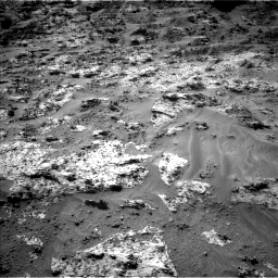 Nasa's Mars rover Curiosity acquired this image using its Left Navigation Camera on Sol 3190, at drive 2758, site number 89