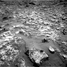 Nasa's Mars rover Curiosity acquired this image using its Left Navigation Camera on Sol 3190, at drive 2770, site number 89