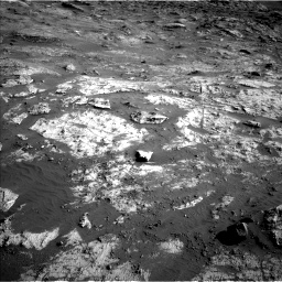 Nasa's Mars rover Curiosity acquired this image using its Left Navigation Camera on Sol 3190, at drive 2788, site number 89