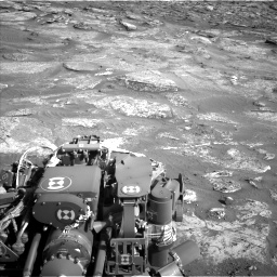 Nasa's Mars rover Curiosity acquired this image using its Left Navigation Camera on Sol 3190, at drive 2812, site number 89