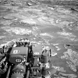 Nasa's Mars rover Curiosity acquired this image using its Left Navigation Camera on Sol 3190, at drive 2818, site number 89