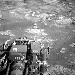 Nasa's Mars rover Curiosity acquired this image using its Left Navigation Camera on Sol 3190, at drive 2830, site number 89