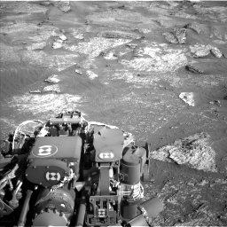Nasa's Mars rover Curiosity acquired this image using its Left Navigation Camera on Sol 3190, at drive 2836, site number 89