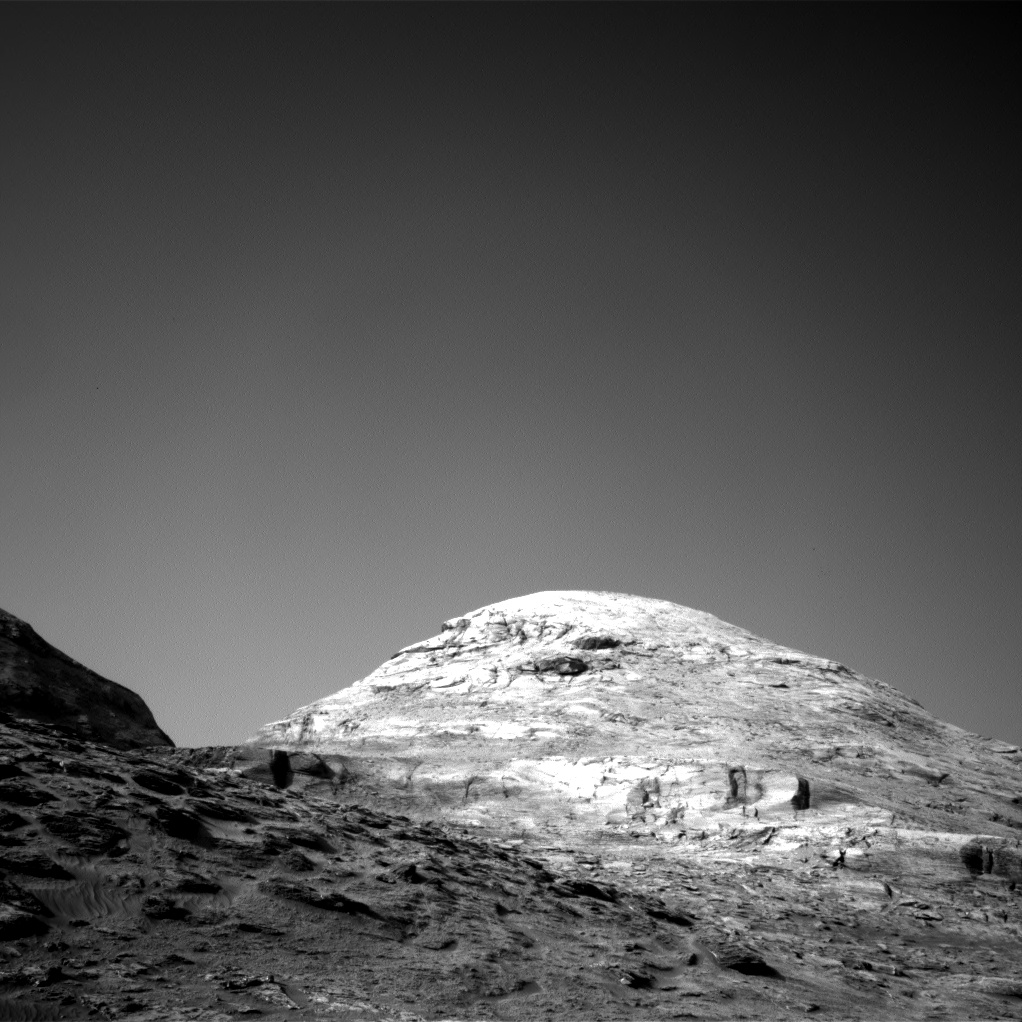 Nasa's Mars rover Curiosity acquired this image using its Right Navigation Camera on Sol 3190, at drive 2638, site number 89