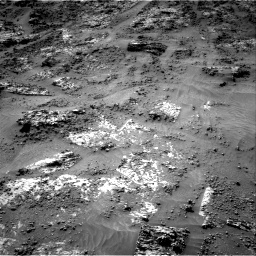 Nasa's Mars rover Curiosity acquired this image using its Right Navigation Camera on Sol 3190, at drive 2656, site number 89
