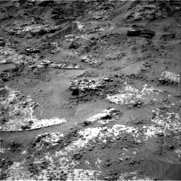 Nasa's Mars rover Curiosity acquired this image using its Right Navigation Camera on Sol 3190, at drive 2662, site number 89