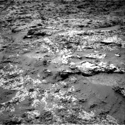 Nasa's Mars rover Curiosity acquired this image using its Right Navigation Camera on Sol 3190, at drive 2698, site number 89