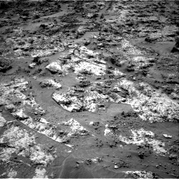 Nasa's Mars rover Curiosity acquired this image using its Right Navigation Camera on Sol 3190, at drive 2722, site number 89
