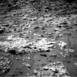 Nasa's Mars rover Curiosity acquired this image using its Right Navigation Camera on Sol 3190, at drive 2764, site number 89