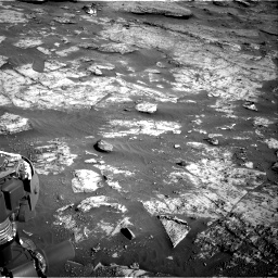 Nasa's Mars rover Curiosity acquired this image using its Right Navigation Camera on Sol 3190, at drive 2770, site number 89