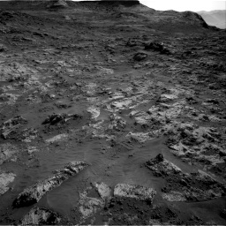 Nasa's Mars rover Curiosity acquired this image using its Right Navigation Camera on Sol 3190, at drive 2782, site number 89