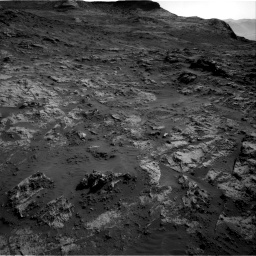 Nasa's Mars rover Curiosity acquired this image using its Right Navigation Camera on Sol 3190, at drive 2788, site number 89