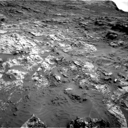 Nasa's Mars rover Curiosity acquired this image using its Right Navigation Camera on Sol 3190, at drive 2794, site number 89