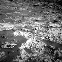 Nasa's Mars rover Curiosity acquired this image using its Right Navigation Camera on Sol 3190, at drive 2800, site number 89