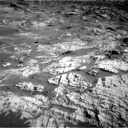 Nasa's Mars rover Curiosity acquired this image using its Right Navigation Camera on Sol 3190, at drive 2806, site number 89