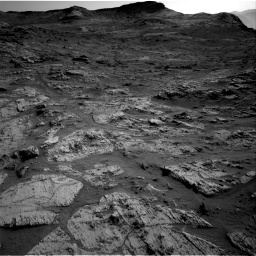 Nasa's Mars rover Curiosity acquired this image using its Right Navigation Camera on Sol 3190, at drive 2812, site number 89