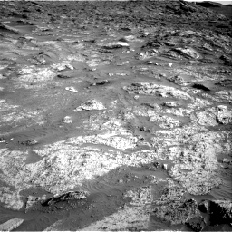 Nasa's Mars rover Curiosity acquired this image using its Right Navigation Camera on Sol 3190, at drive 2818, site number 89