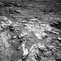Nasa's Mars rover Curiosity acquired this image using its Right Navigation Camera on Sol 3190, at drive 2824, site number 89