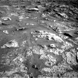 Nasa's Mars rover Curiosity acquired this image using its Right Navigation Camera on Sol 3190, at drive 2830, site number 89