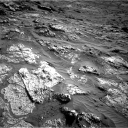 Nasa's Mars rover Curiosity acquired this image using its Right Navigation Camera on Sol 3190, at drive 2836, site number 89