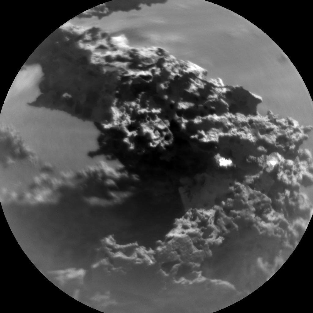 Nasa's Mars rover Curiosity acquired this image using its Chemistry & Camera (ChemCam) on Sol 3190, at drive 2638, site number 89