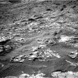 Nasa's Mars rover Curiosity acquired this image using its Left Navigation Camera on Sol 3192, at drive 18, site number 90