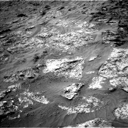 Nasa's Mars rover Curiosity acquired this image using its Left Navigation Camera on Sol 3192, at drive 30, site number 90