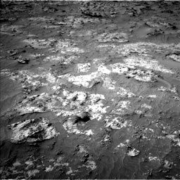 Nasa's Mars rover Curiosity acquired this image using its Left Navigation Camera on Sol 3192, at drive 120, site number 90