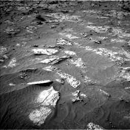 Nasa's Mars rover Curiosity acquired this image using its Left Navigation Camera on Sol 3192, at drive 138, site number 90