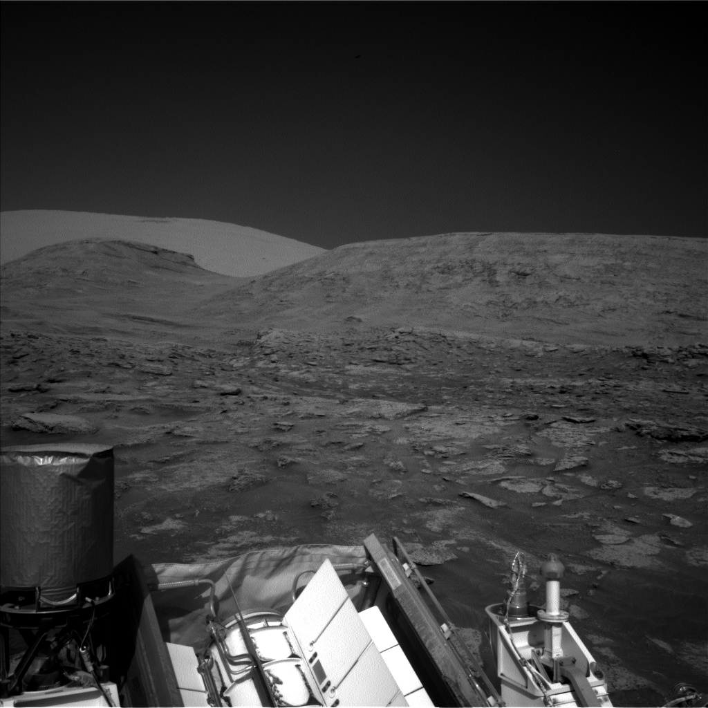 Nasa's Mars rover Curiosity acquired this image using its Left Navigation Camera on Sol 3192, at drive 232, site number 90