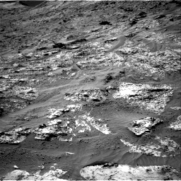 Nasa's Mars rover Curiosity acquired this image using its Right Navigation Camera on Sol 3192, at drive 18, site number 90
