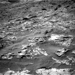 Nasa's Mars rover Curiosity acquired this image using its Right Navigation Camera on Sol 3192, at drive 24, site number 90