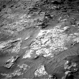 Nasa's Mars rover Curiosity acquired this image using its Right Navigation Camera on Sol 3192, at drive 36, site number 90